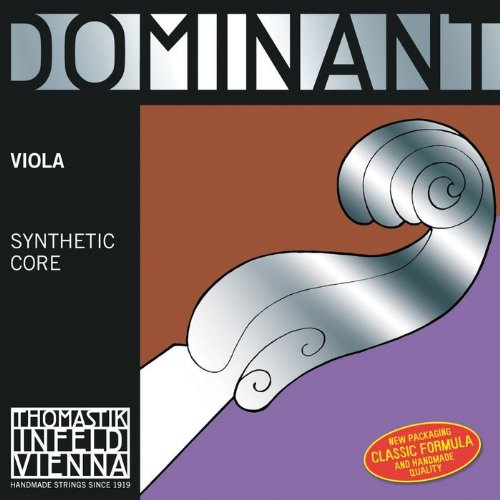 Thomastik Dominant, Viola Strings, Complete Set, 4125, 4/4 Size, 16""